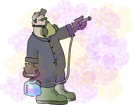 insecticide: Fumigate