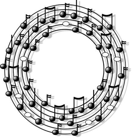 Music ring Banco de Imagens - 376090
