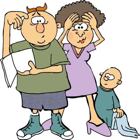 lady cartoon: Childrens owners manual