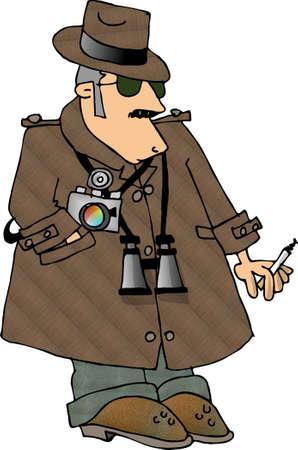 spy camera: Secret agent