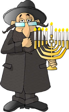 jewish: Rabbi Stock Photo