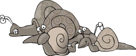 slither: Group of snails