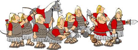 Roman army photo