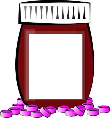 Prescription bottle Stock fotó