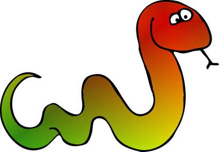 Colored snake Imagens