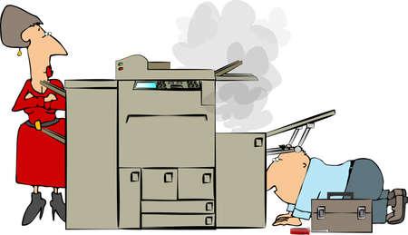 lass: Copy machine repair