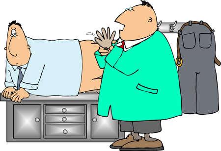prostate: Prostate exam