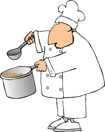 stockpot: Soup chef