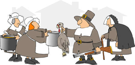 musket: Turkey Soup Stock Photo