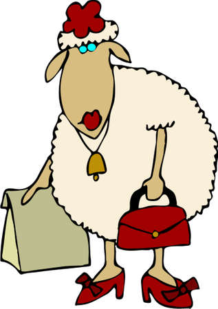 ewe: Sheep shop