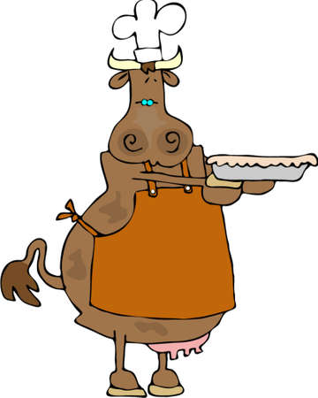 Cowpie Ilustrace