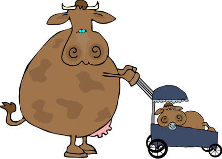Cow Mom