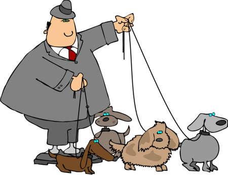 mutt: Passeggiate i cani