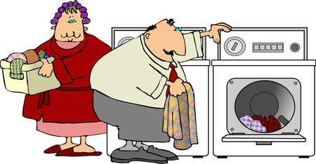Laundry Day Reklamní fotografie