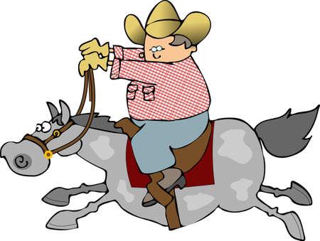 Horse Rider Reklamní fotografie