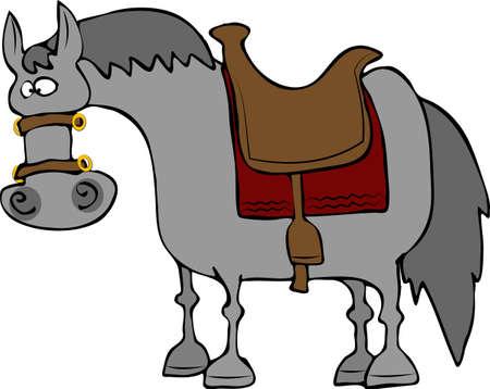stirrup: Cross-eyed Horse