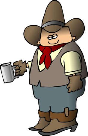 カウボーイのコーヒー