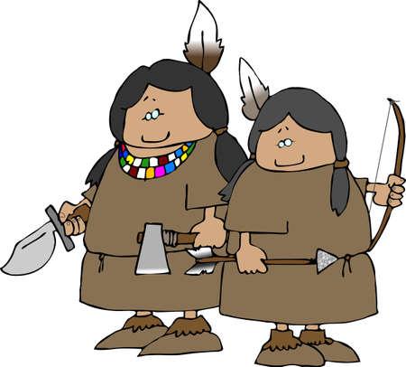 Little Indian Warriors