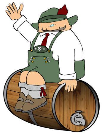 Bewaken van het bier