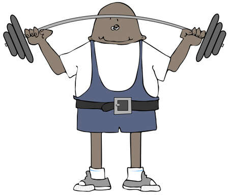 weightlifter: Weightlifter Stock Photo