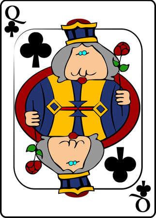 queen of clubs: Queen Of Clubs