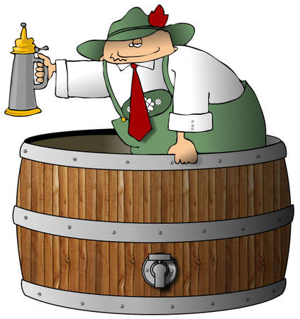 beer stein: Beermeister