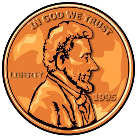 penny: US Penny Stock Photo