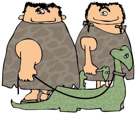 neanderthal women: Walking The Dinosaurs