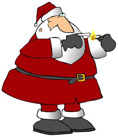 Smokin Santa