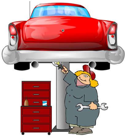 coverall: Auto Mechanic