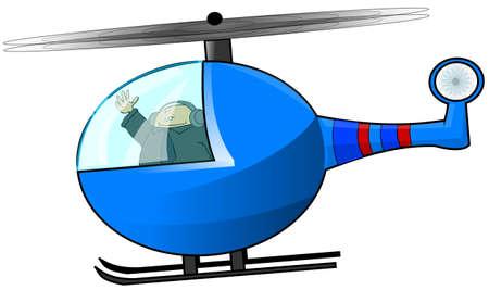 ヘリコプターのパイロット