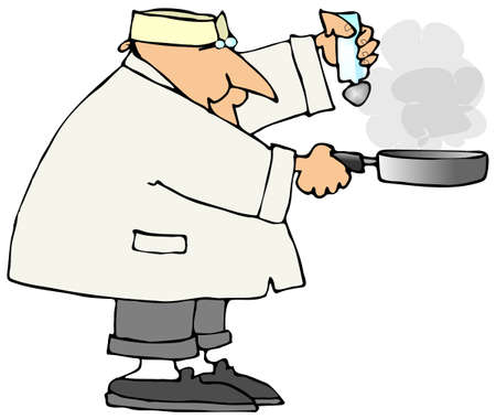 Cook With A Frying Pan