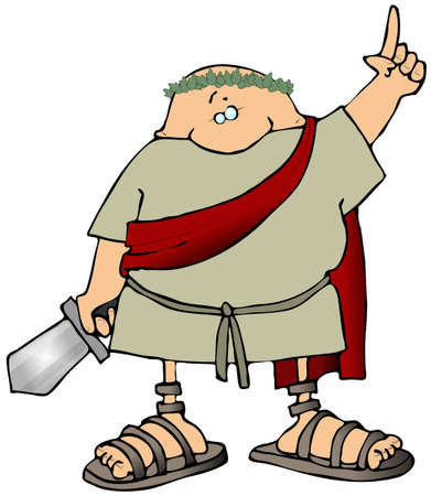toga: Toga Man With A Sword