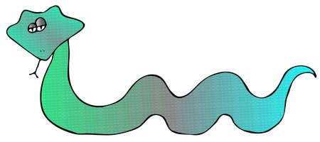 forked: Blue Snake