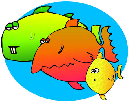 gill: Three Fish
