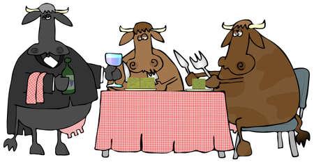 Beef Dinner Stock fotó