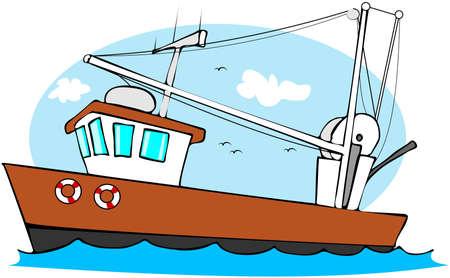釣トロール船