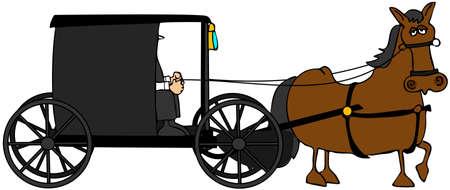 amish: Amish Buggy