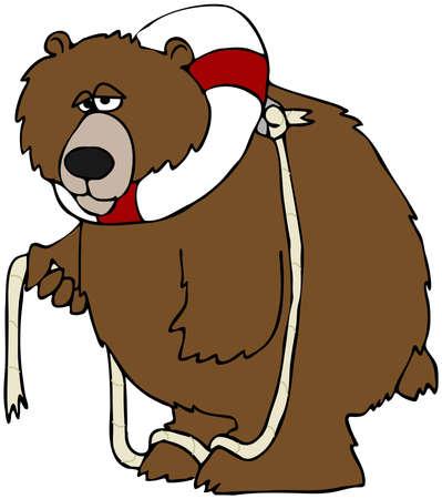 preserver: Bear With A Life Preserver