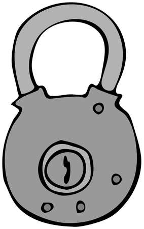 old padlock: Old Padlock
