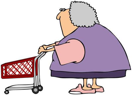Woman Shopper photo