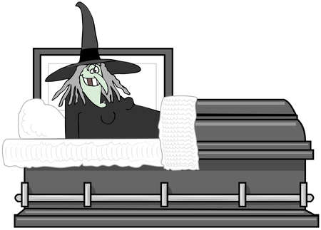 wart: Witch In A Coffin