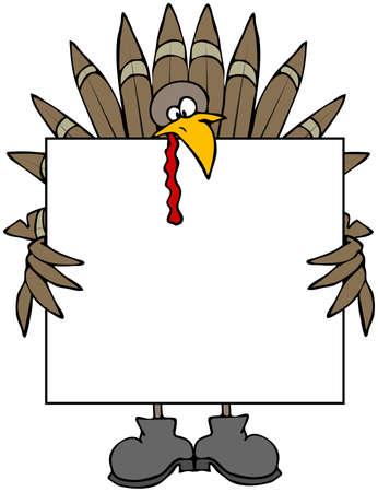 turkey feather: Turkey Sign