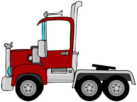 fender: Semi truck cab