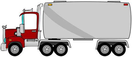 camión cisterna: Camión cisterna Foto de archivo