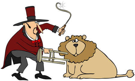 Lion Tamer photo