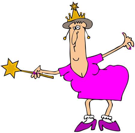 fairy godmother: Chubby fairy godmother