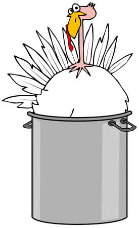 snood: Boiled turkey Stock Photo
