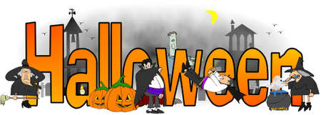 Halloween Standard-Bild - 23286509