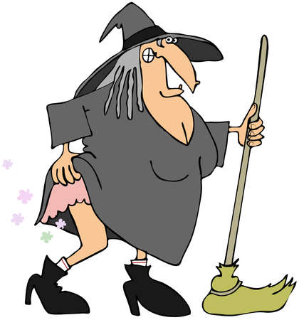 wart: Witch with gas